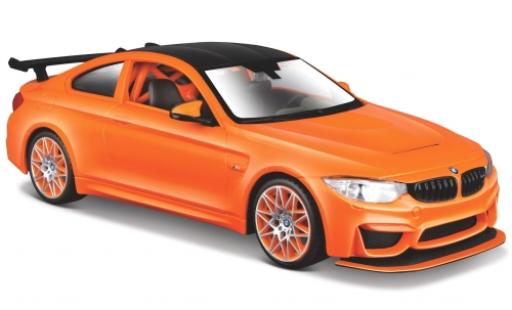 Bmw M4 1/24 Maisto GTS orange miniature