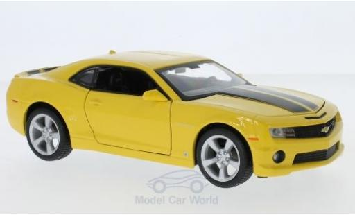 Chevrolet Camaro RS 1/24 Maisto SS yellow/black 2010 diecast model cars