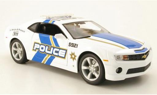 Chevrolet Camaro 1/24 Maisto SS RS Police (USA) 2010 diecast model cars