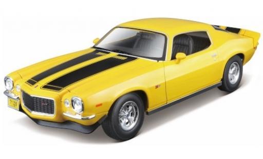 Chevrolet Camaro 1/18 Maisto Z28 jaune/noire 1971