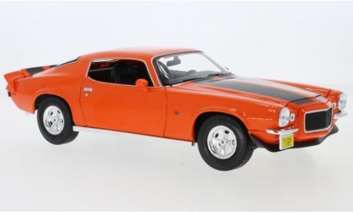 Chevrolet Camaro 1/18 Maisto Z28 orange/noire 1971 miniature