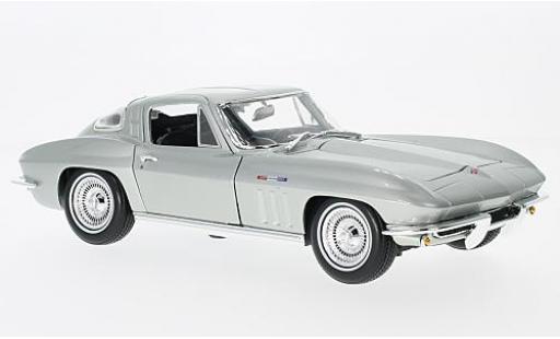 Chevrolet Corvette 1/18 Maisto grey 1965 sans Vitrine diecast model cars