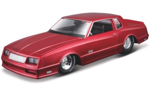 Chevrolet Monte Carlo 1/24 Maisto SS metallise rouge 1986 miniature