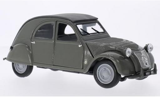 Citroen 2CV 1/18 Maisto grise 1952 miniature