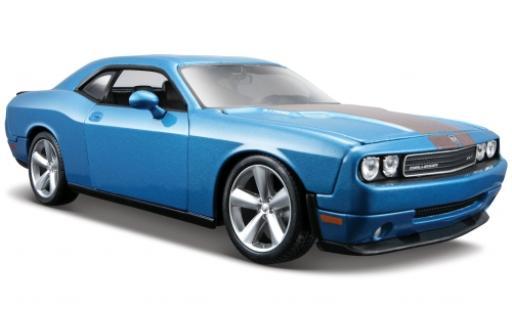 Dodge Challenger 1/24 Maisto SRT8 metallise blue 2008 diecast model cars