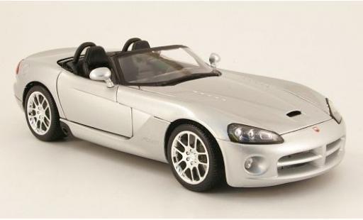 Dodge Viper 1/18 Maisto SRT-10 grise 2003 sans Vitrine miniature
