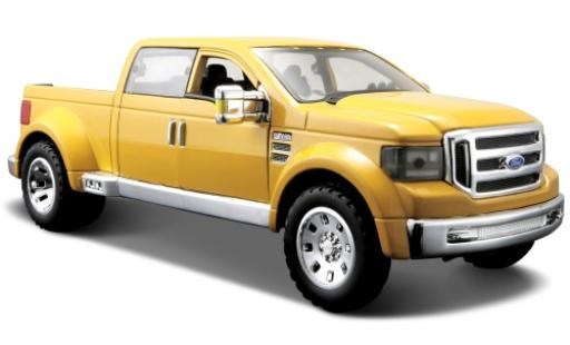 Ford F-350 1/24 Maisto Mighty Super Duty jaune 1:31 miniature