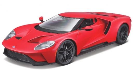 Ford GT 1/18 Maisto red 2017 diecast model cars