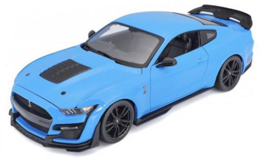 Ford Mustang 1/18 Maisto Shelby GT500 blue 2020 diecast model cars
