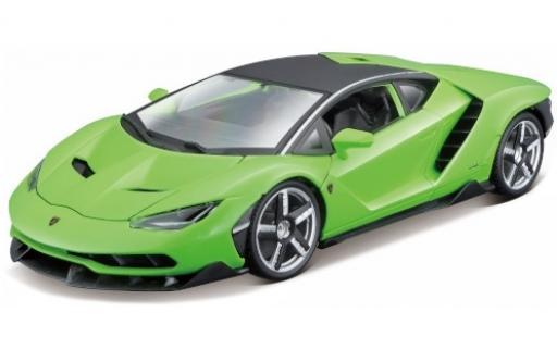Lamborghini Centenario 1/18 Maisto LP 770-4 verte 2016 miniature