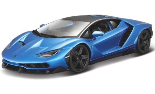 Lamborghini Centenario 1/18 Maisto LP 770-4 metallise blue 2016 diecast model cars