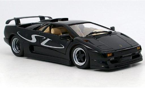 Lamborghini Diablo 1/18 Maisto SV black sans Vitrine diecast model cars