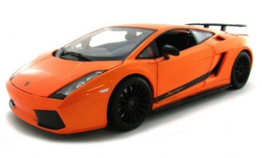 Lamborghini Gallardo 1/18 Maisto Superlegerra metallise orange 2007 diecast model cars