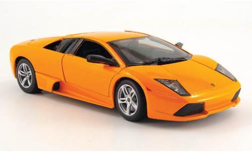 Lamborghini Murcielago 1/18 Maisto LP 640 metallise orange sans Vitrine miniature