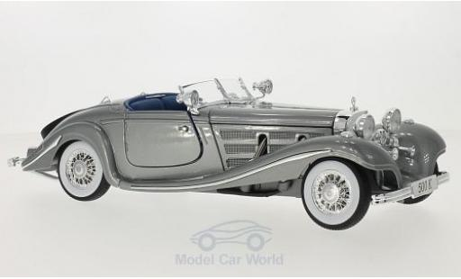 Mercedes 500 1/18 Maisto K grise 1936 miniature