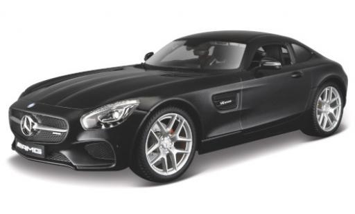 Mercedes AMG GT 1/18 Maisto (C190) metallise noire miniature