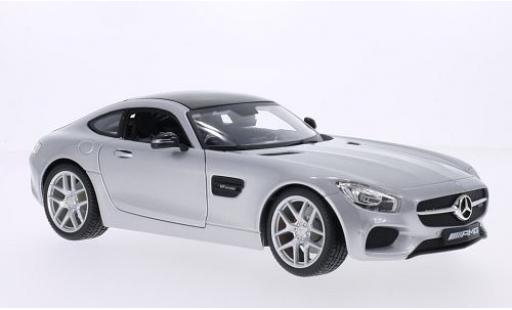 Mercedes AMG GT 1/18 Maisto (C190) grey 2015 diecast model cars