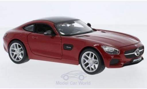 Mercedes AMG GT 1/24 Maisto red/black 2015 diecast model cars
