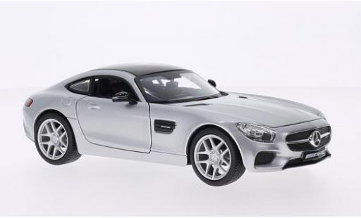 Mercedes AMG GT 1/24 Maisto grey/black 2015 diecast model cars