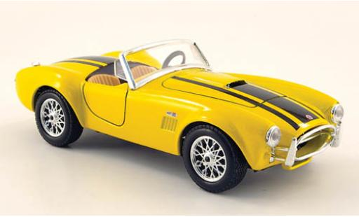 Shelby Cobra 1/24 Maisto 427 jaune 1967 miniature