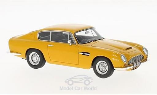 Aston Martin DB6 1/43 Matrix jaune RHD 1965 miniature