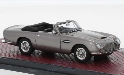 Aston Martin DB6 1/43 Matrix Volante metallico grigio RHD 1968 miniatura
