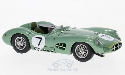 Aston Martin DBR1 1/43 Matrix RHD No.7 RAC Tourist Trophy 1958 S.Moss/T.Brooks miniature