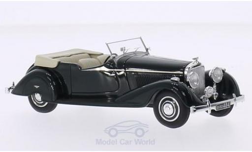 Bentley 4.5 1/43 Matrix 4.25 Litre Vanden Plas Tourer verte RHD 1938 Maharajah Darbhanga miniature