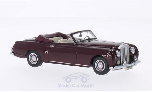 Bentley S1 1/43 Matrix Continental Park Ward DHC rouge 1956 miniature