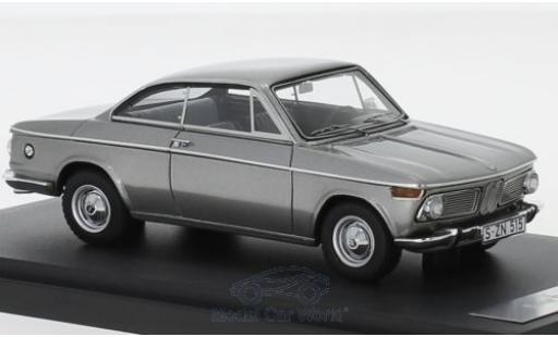 Bmw 1600 1/43 Matrix -2 Baur Coupe grey 1967 diecast model cars