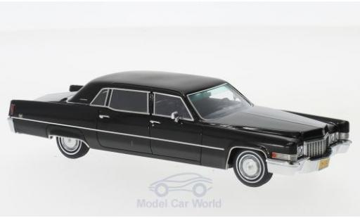 Cadillac Fleetwood 1/43 Matrix Series 75 Limousine noire 1970 miniature
