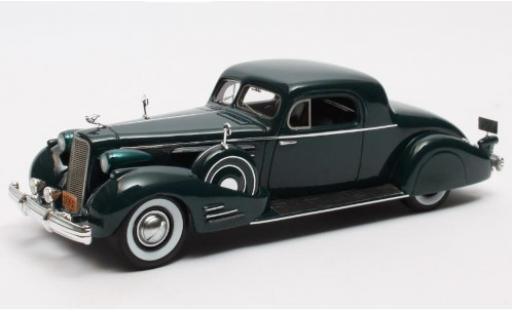 Cadillac V16 1/43 Matrix Series 90 Fleetwood Coupe verte 1937 miniature