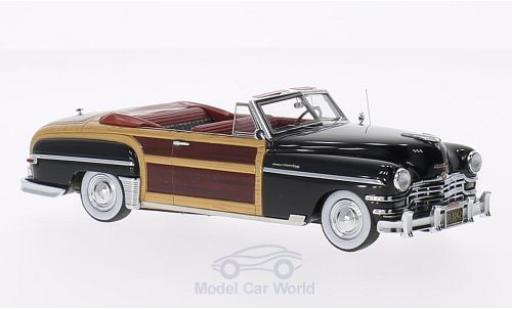 Chrysler Town & Country 1/43 Matrix Convertible noire/Holzoptik 1949 miniature