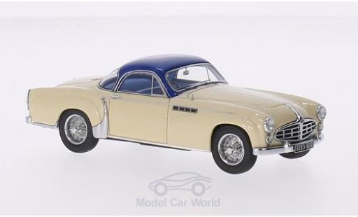 Delahaye 235 1/43 Matrix Chapron Coupe beige/metallise bleue RHD 1953 miniature
