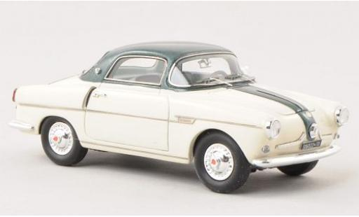 Fiat 600 1/43 Matrix Viotto beige/metallise verte miniature