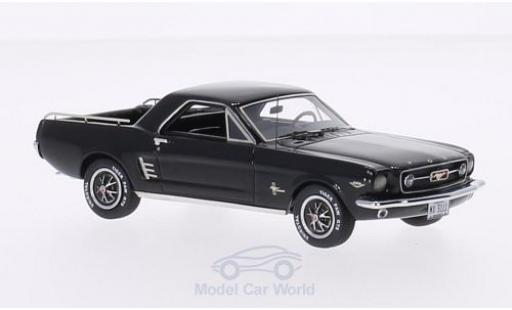 Ford Mustang 1/43 Matrix Mustero noire 1966 miniature