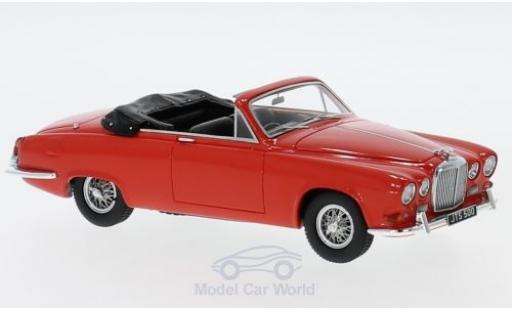 Jaguar 420 1/43 Matrix Harold Radford Convertible rouge RHD 1967 miniature