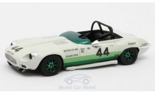 Jaguar E-Type 1/43 Matrix V12 No.44 Group 44 1960 B.Tullius modellautos
