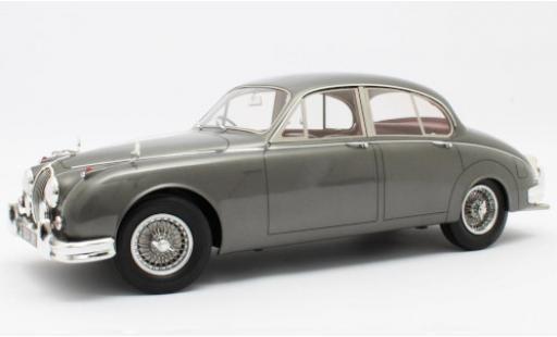 Jaguar MK 1/12 Matrix II metallise grise RHD 1959 miniature