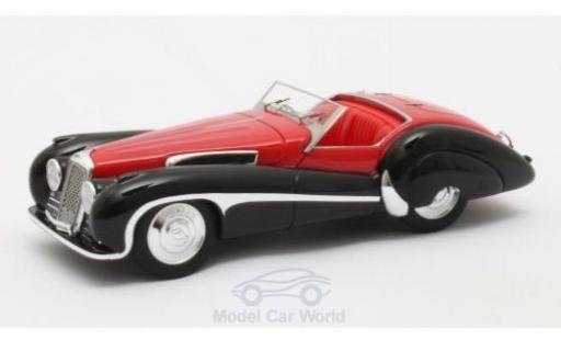Jaguar SS 1/43 Matrix 100 red/black 1939 Roadster Vanden Plas diecast