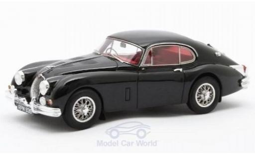 Jaguar XK 1/43 Matrix 150 S 3.8 Fastback by Hartin noire RHD 1960 #T825146/DN miniature