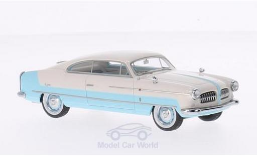 Lancia Aurelia 1/43 Matrix (B52) B-Junior Ghia blanche/bleue RHD 1952 miniature