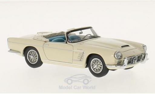 Maserati 3500 GT 1/43 Matrix Spyder by Frua beige 1957 miniature