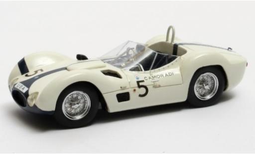 Maserati Tipo 1/43 Matrix 61 Birdcage RHD No.5 Camoradi USA Racing Team 1000km Nürburgring 1960 S.Moss/D.Gurney miniature
