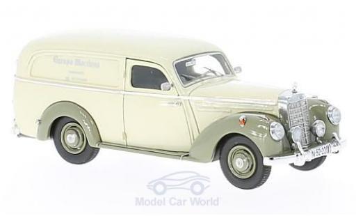 Mercedes 220 1/43 Matrix Lieferwagen Autenrieth beige/hellgrise 1952 miniature