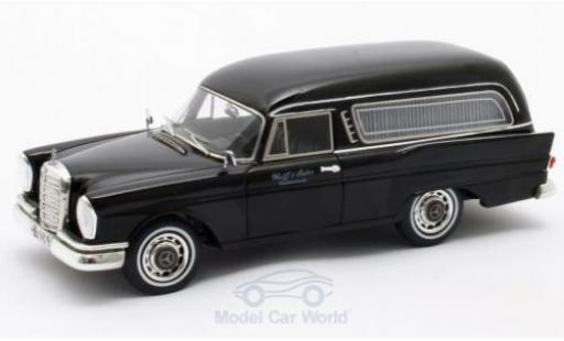 Mercedes 220 1/43 Matrix SE (W111) Pollmann noire 1966 miniature