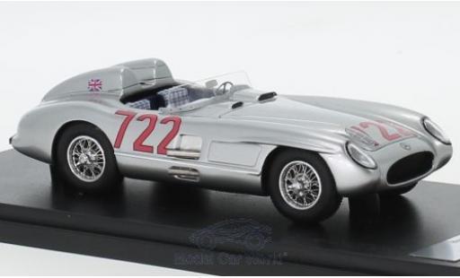 Mercedes 300 1/43 Matrix SLR No.722 Mille Miglia 1955 S.Moss/D.Jenkinson miniature