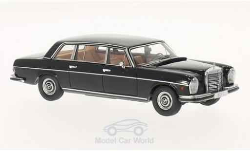 Mercedes 300 SEL 1/43 Matrix SEL W109 Lang nero 1967 miniatura
