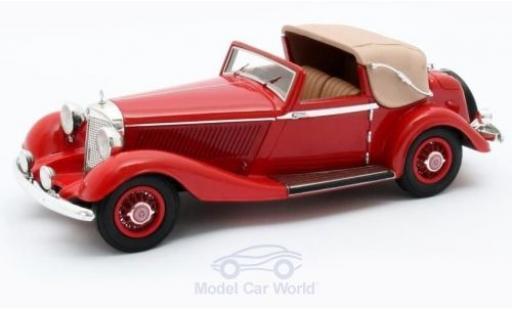 Mercedes 500 1/43 Matrix K 3-Position DHC Corsica rouge RHD 1935 #123689 miniature