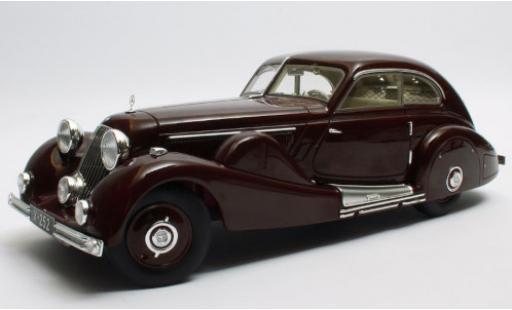 Mercedes 500 1/18 Matrix K Spezial Stromlinienwagen (W29) rouge 1935 Tan Tjoan Keng miniature